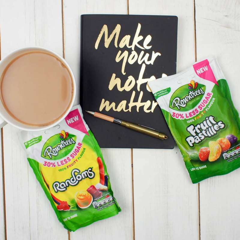 Rowntrees Reduced Sugar Sweets – A thumbs up from The Mad House