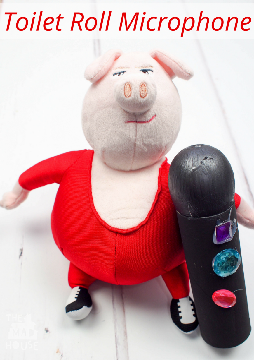 Make A Toilet Roll Microphone For The Sing Movie Mum In