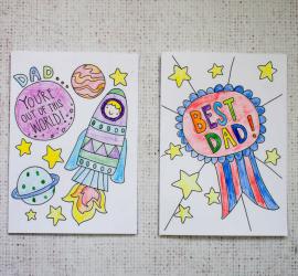 Fab Free Printable Father's Day Cards