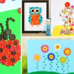 20 Adorable Button Crafts for Kids
