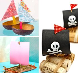 20 Fun & Creative Boat Crafts for Kids