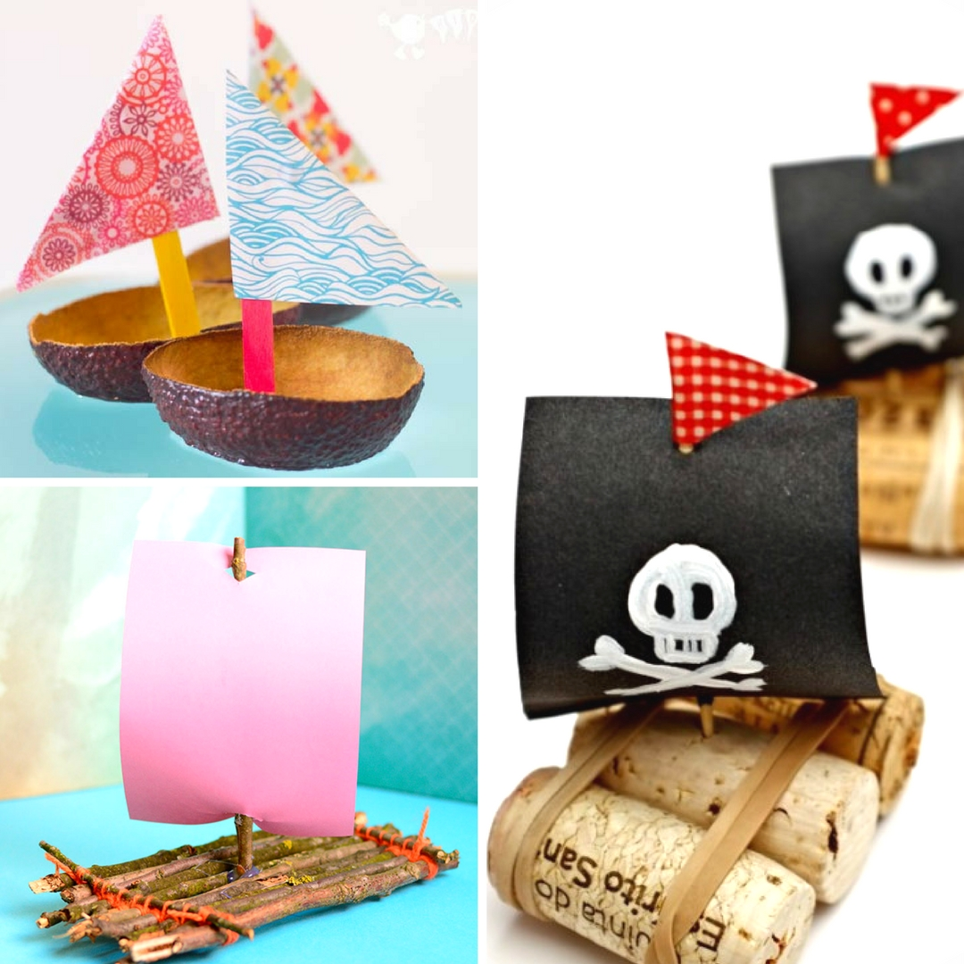 20 fun creative boat crafts for kids mum in the madhouse for Get paid to make crafts