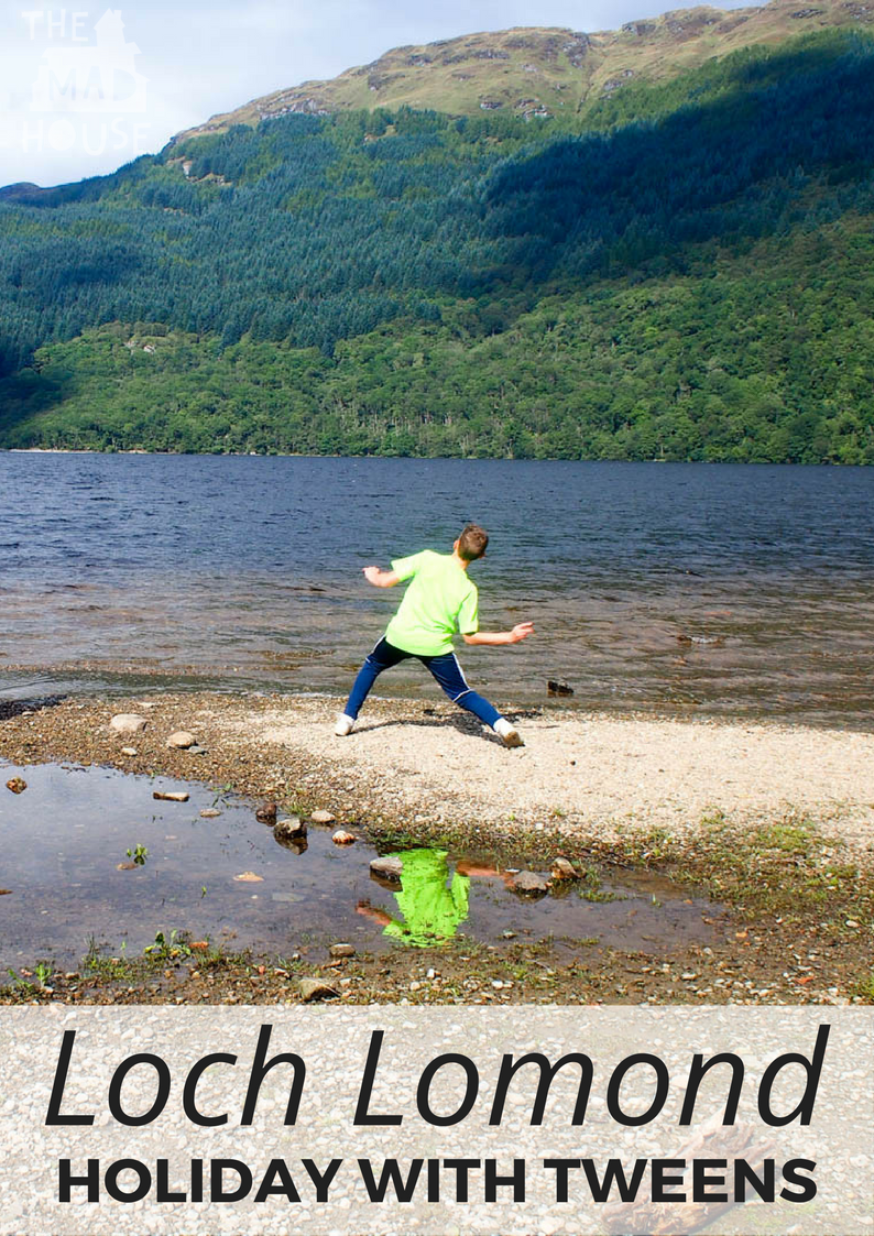 A visit to Cameron Lodges - Loch Lomond. The perfect holiday for all the family including those difficult to please tweens.