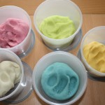 Home made scented play dough