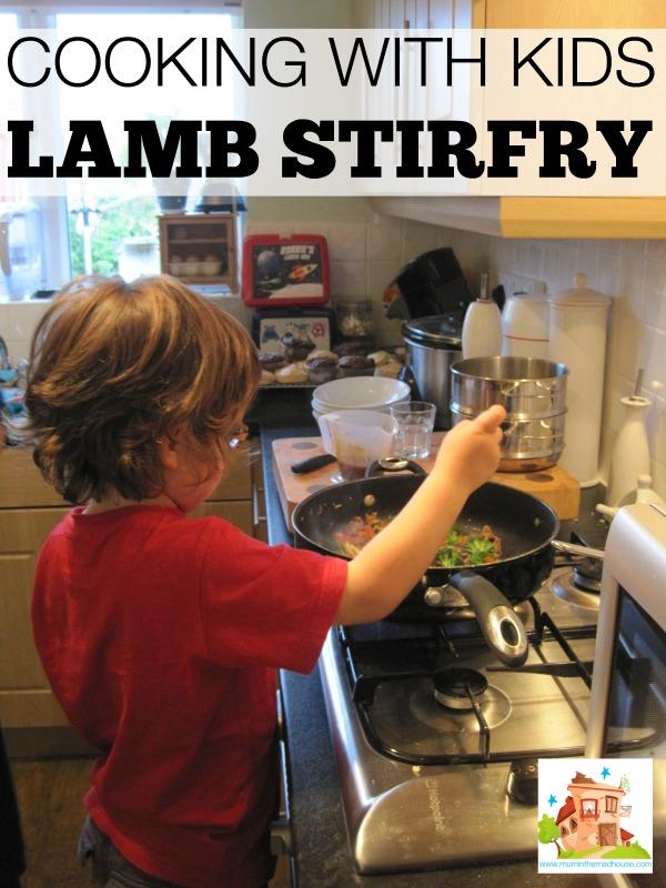 lamb stirfry