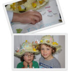 How to decorate an Easter Bonnet