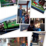Half term at the National Railway Museum York