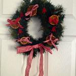 Home made Christmas wreaths