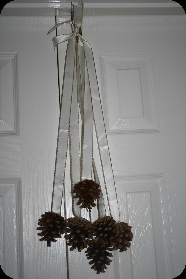pinecone door