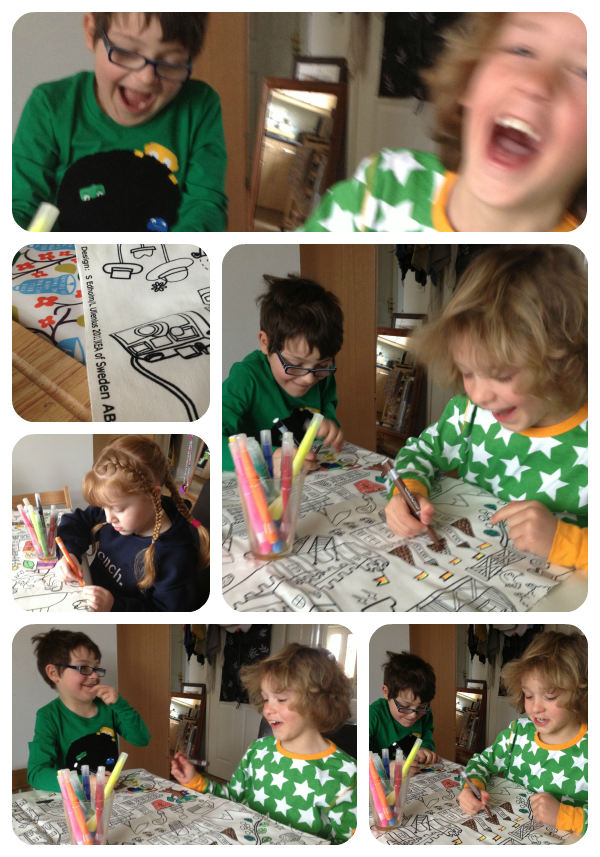 colouring Collage