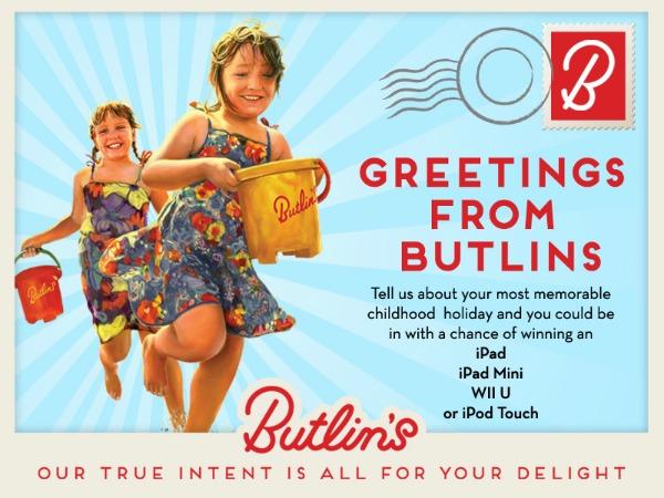Butlins Blog Competition Digital Postcard