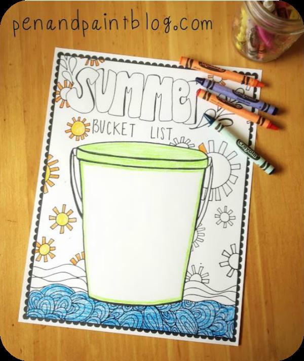 pen and paint blog bucket list
