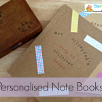 Teacher Appreciation Gifts 2013 – personalised note books