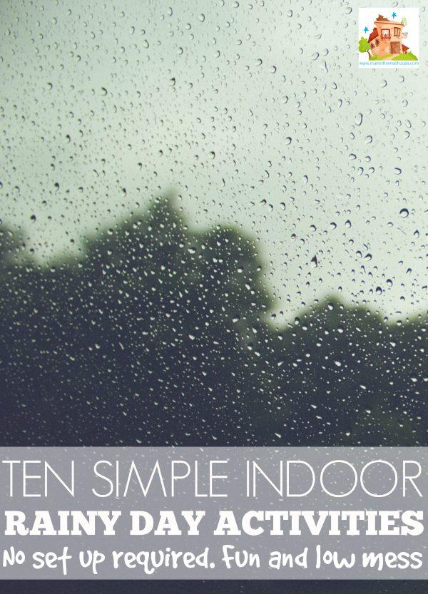 simple indoor activities