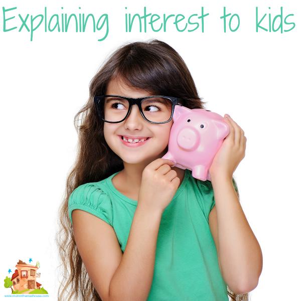 Explaining interest to kids