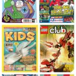 Top comics for 7 and 8 year old boys – tried and tested by the Mini Mads
