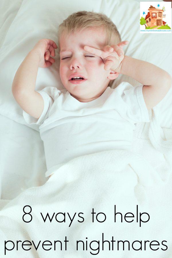 8 ways to help prevent nightmares
