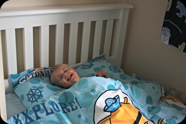 happy bed