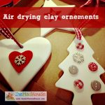 Air drying clay ornements