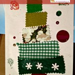 Easy child friendly Fabric Christmas Cards