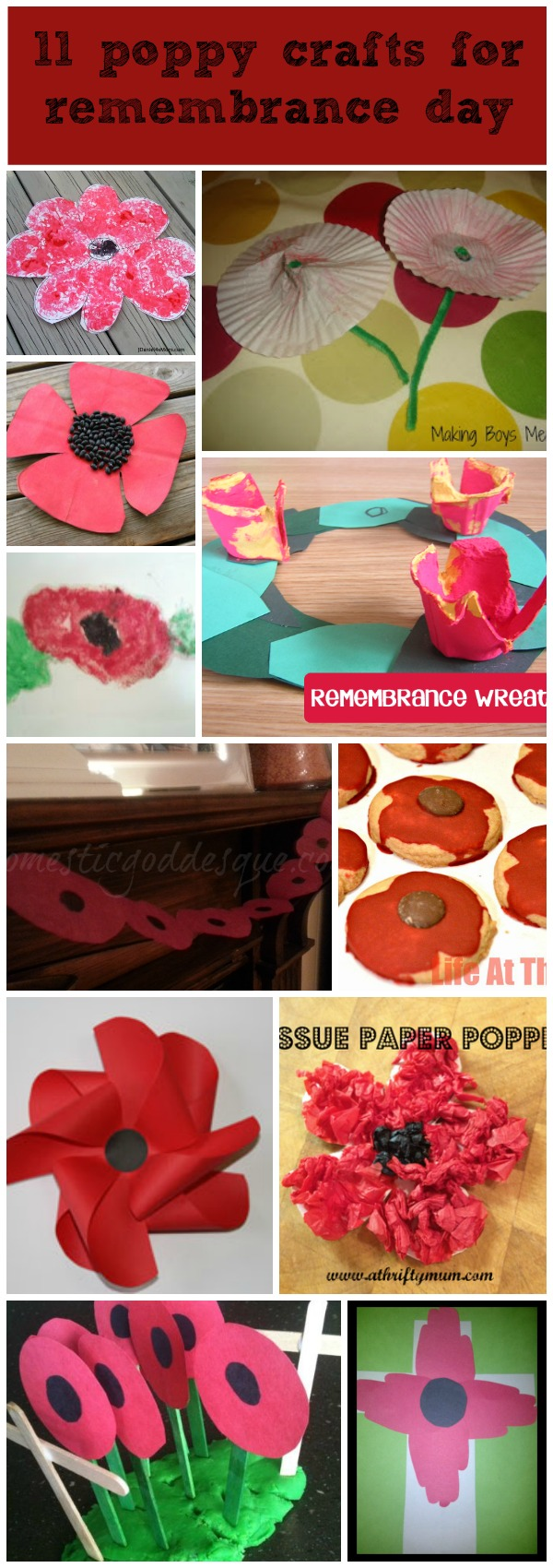 11 Poppy Crafts Art Or Food For Remembrance Day Mum In The Madhouse Simple Circuits Kids Http Wwwmakingboysmencom 2013 04