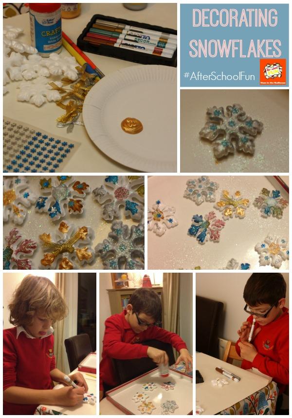 snoflake collage