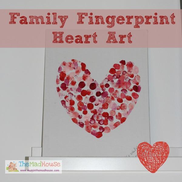 family fingerprint heart