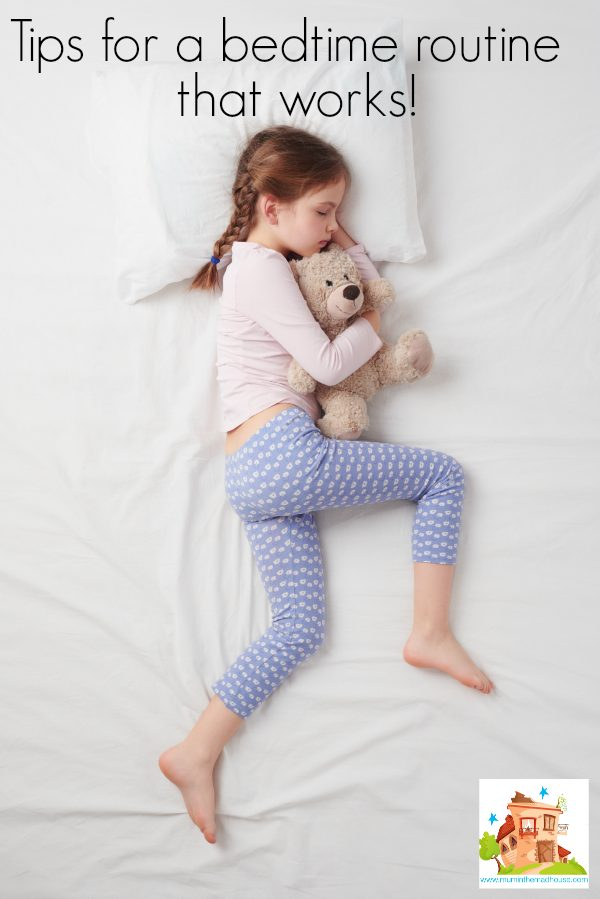 Tips for a peaceful bedtime routine that works