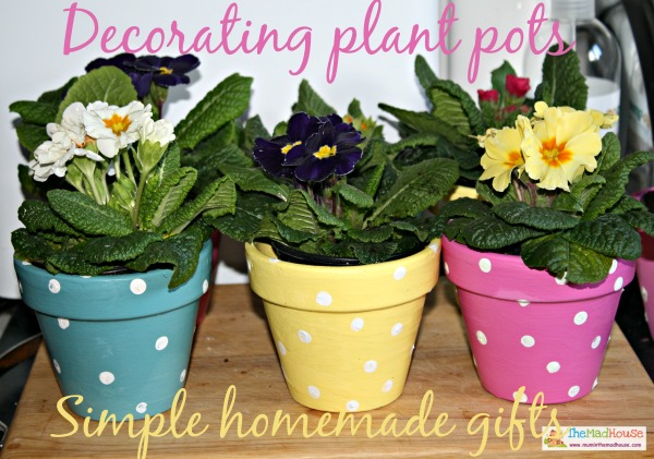 homemade plant posts