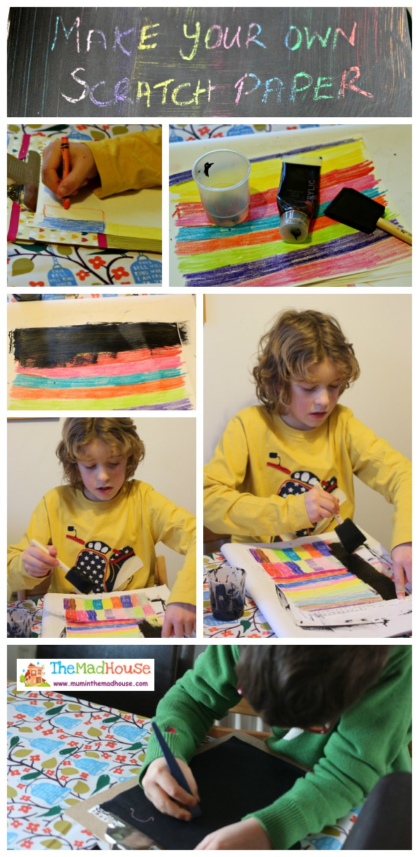 make your own scratch paper