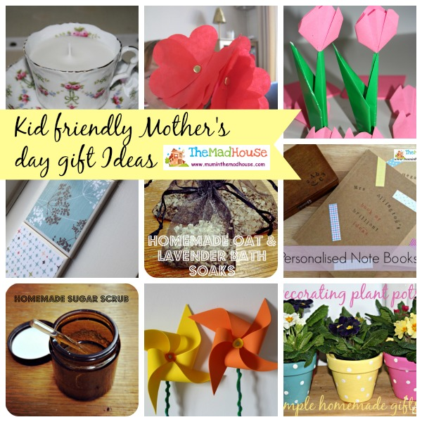 Homemade Kid Friendly Mothers Day Gifts And Cards Something For The Weekend Mum In The Madhouse