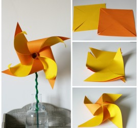 These daffodil pinwheel flowers are simple to make and look so beautiful. Celebrate spring with this fab DIY flower craft