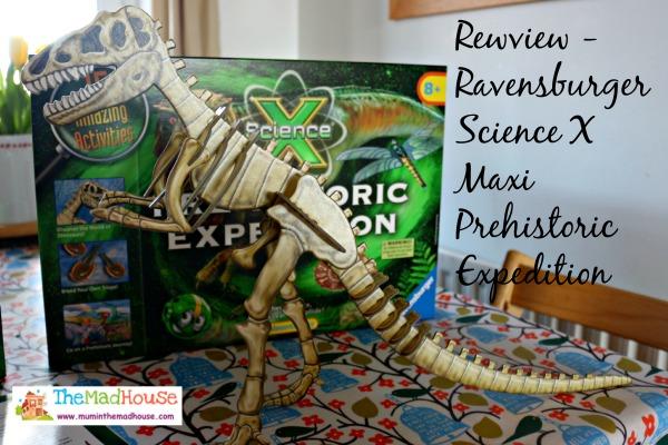 Ravensburger Science X Maxi Prehistoric Expedition