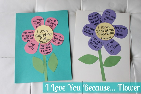Homemade mothers day cards for kids to make mum in the for Mothers day cards from preschoolers