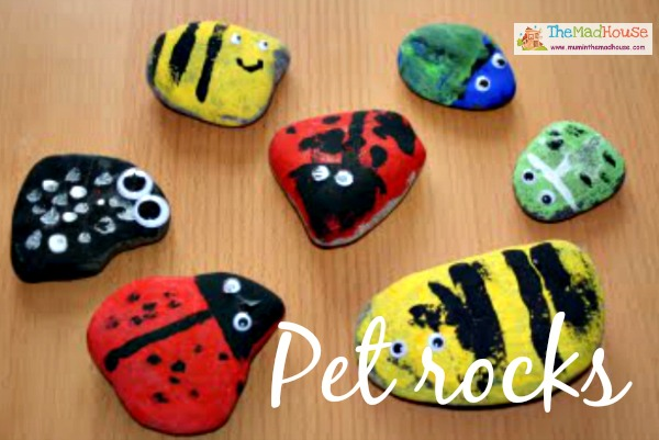 Stone crafts and activities - Something for the weekend - Mum In ...