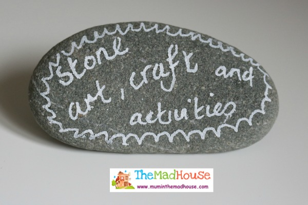 stone art, crafts and activities