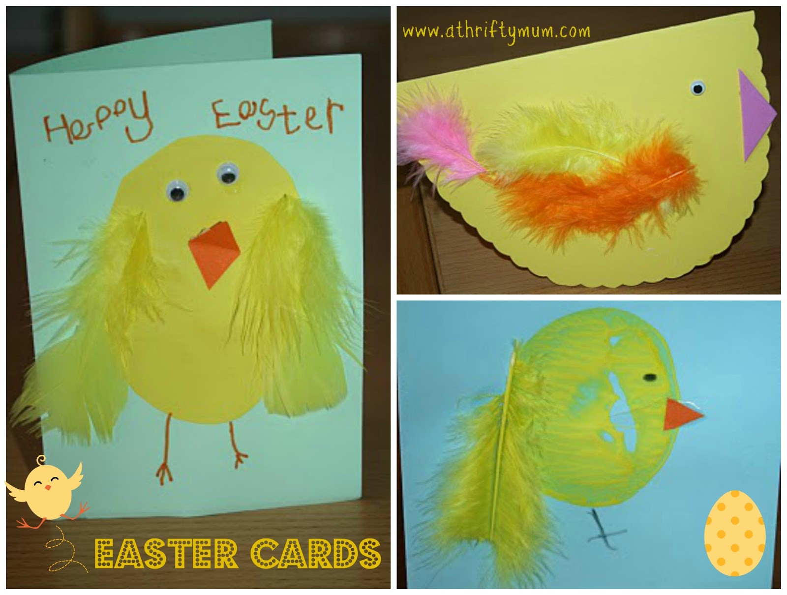 Easter Card Ideas For Children To Make Part - 31: Easter Cards