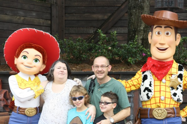 The mads meet woody and jessie