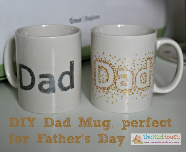 homemade Dad Mug perfect for fathers day