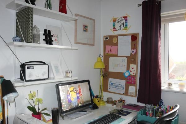 my desk, my happy place