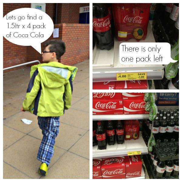 coca cola in tesco