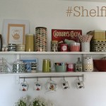 My Kitchen Shelves #Shelfie