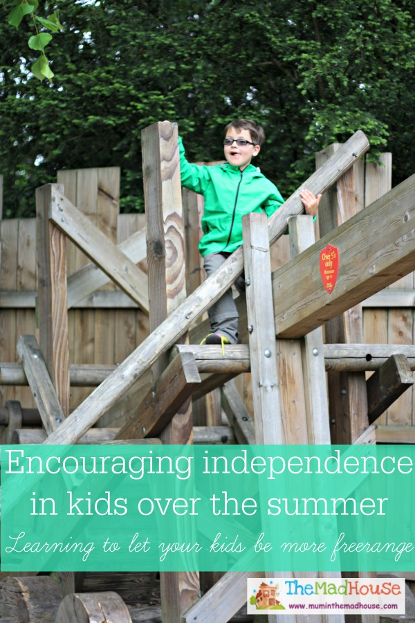 Encouraging independence in kids over the summer