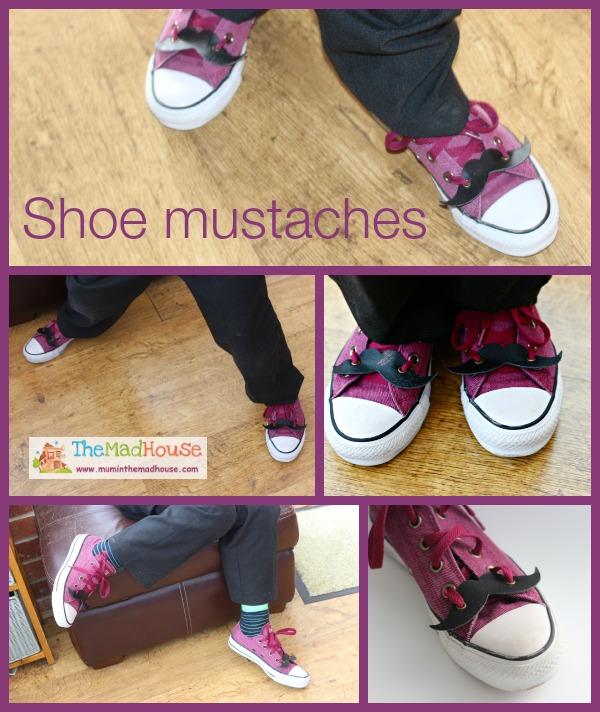 Shoe mustaches mini
