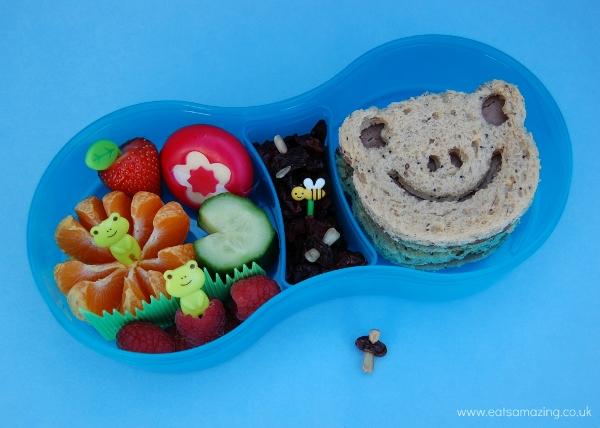 Eats Amazing UK - Frog themed bento lunch