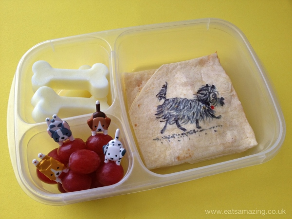 Eats Amazing UK - Hairy Maclary book themed lunch for World Book Day
