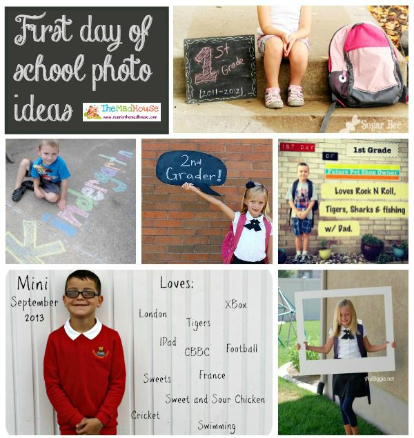 first day of school-