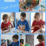Loo Roll Balloon Rocket