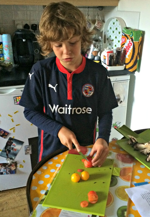 Maxi chopping tomatoes