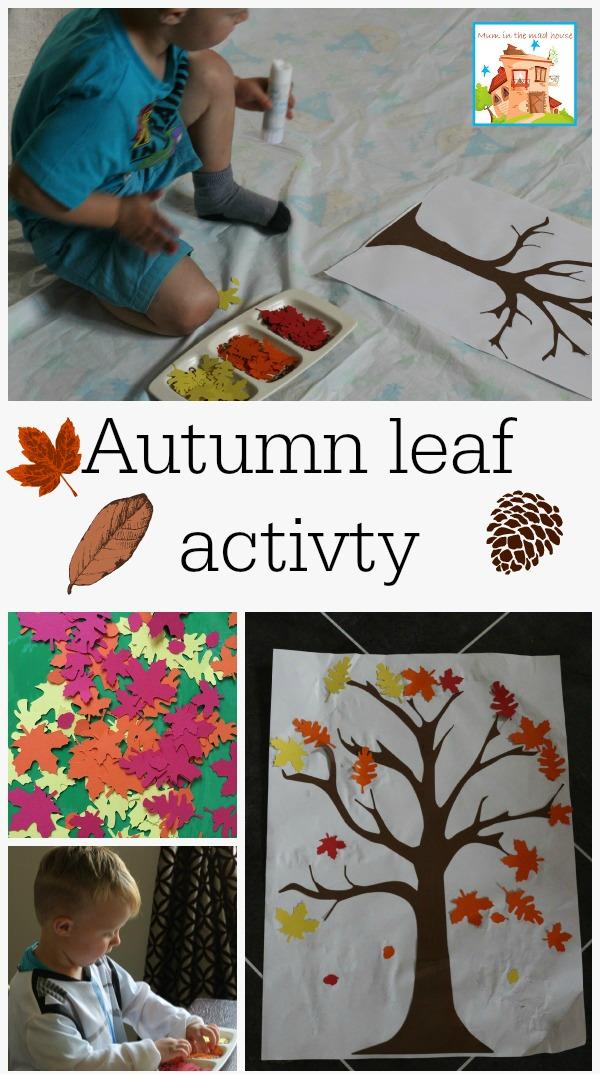 coloured leaf activity 2